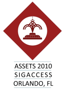 ASSETS 2010 Logo