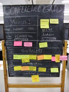 Web, Art, Science Camp - Conference Grid