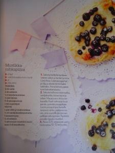 Mustikka-rahkapizza Recipe